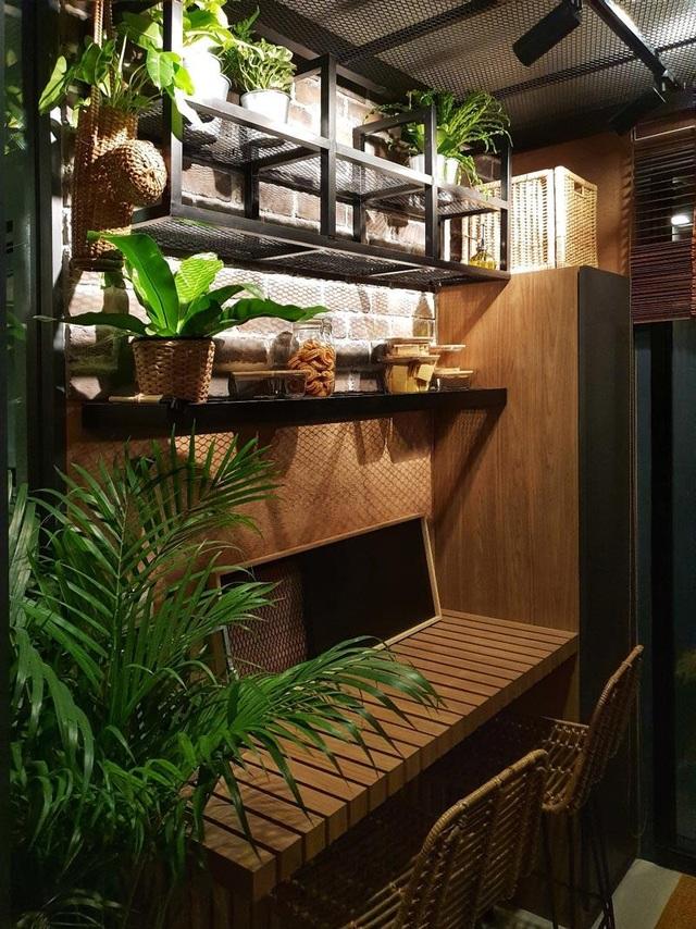 """""""Sống ảo"""" cả ngày trong nhà 28m2 thiết kế nội thất chất lừ, ngập cây xanh - 9"""