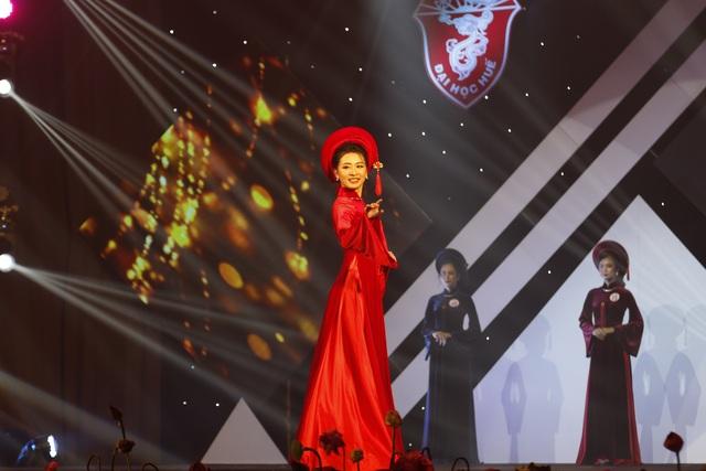 Trả lời hay về áo dài, nữ sinh Ngoại ngữ đăng quang Hoa khôi Đại học Huế - 7