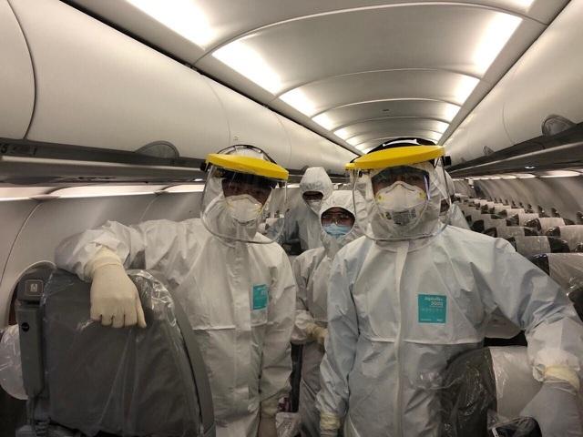 """Chuyến bay """"siêu đặc biệt"""" đón người Việt nhiễm Covid-19 ở Guinea Xích đạo - 3"""