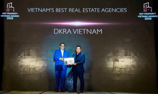 """DKRA Vietnam giữ vững phong độ và bứt phá với """"cú đúp"""" giải thưởng Dot Property Vietnam Awards 2020 - 1"""
