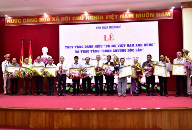 Thừa Thiên Huế: Truy tặng 12 mẹ danh hiệu Bà mẹ Việt Nam anh hùng - 1