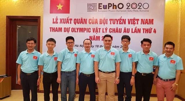Việt Nam đoạt huy chương vàng Olympic Vật lý châu Âu 2020 - 1