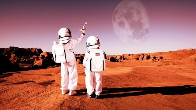 Mỹ tìm cách xây dựng lò phản ứng hạt nhân trên Mặt trăng và Sao Hỏa - 1