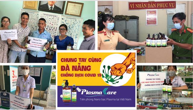 Cùng Đà Nẵng đẩy lùi Covid -19, doanh nghiệp Dược tặng 5000 rửa tay khô Plasma Bạc - 2