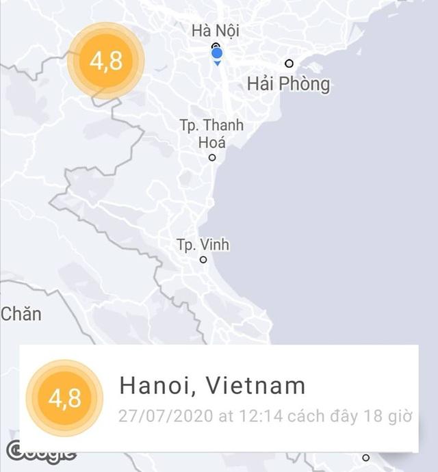 Ứng dụng giúp cảnh báo sớm động đất trên smartphone - 2
