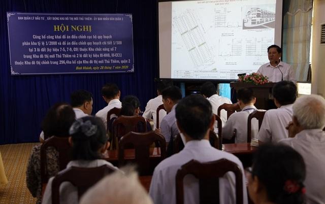 TP Hồ Chí Minh điều chỉnh cục bộ quy hoạch một số khu đất tại Thủ Thiêm - 1