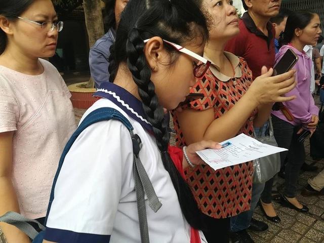 TPHCM công bố đề và đáp án khảo sát lớp 6, Trường chuyên Trần Đại Nghĩa - 1