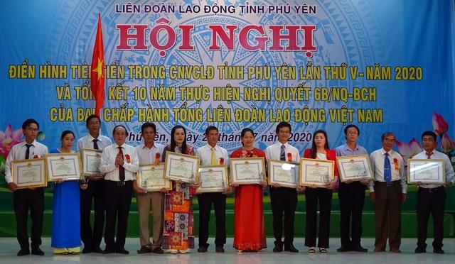 Phú Yên: Hơn 1.000 sáng kiến của công nhân lao động điển hình - 1