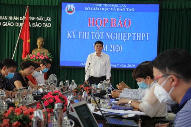 Đắk Lắk: Sẽ kiểm tra thân nhiệt thí sinh dự thi tốt nghiệp THPT - 1