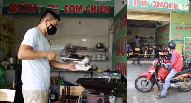 Phòng dịch Covid-19, hàng quán ở Đà Nẵng chỉ bán cho khách mang về - 2