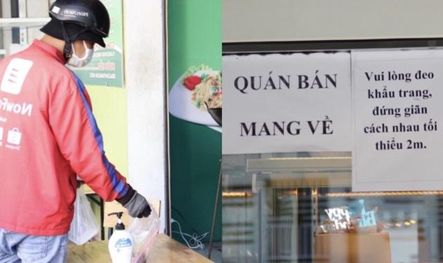 Phòng dịch Covid-19, hàng quán ở Đà Nẵng chỉ bán cho khách mang về - 5