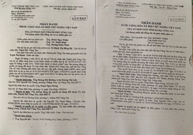 UBND tỉnh Bà Rịa - Vũng Tàu thụ lý tố cáo vụ chính quyền bị tố hành dân! - 8
