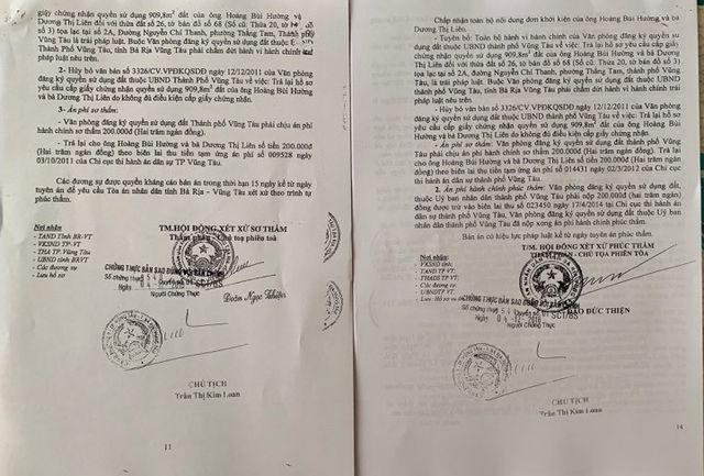 UBND tỉnh Bà Rịa - Vũng Tàu thụ lý tố cáo vụ chính quyền bị tố hành dân! - 9