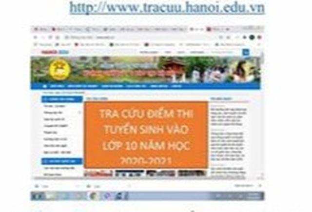 Hà Nội: Công bố điểm thi vào lớp 10 THPT năm học 2020-2021 - 1
