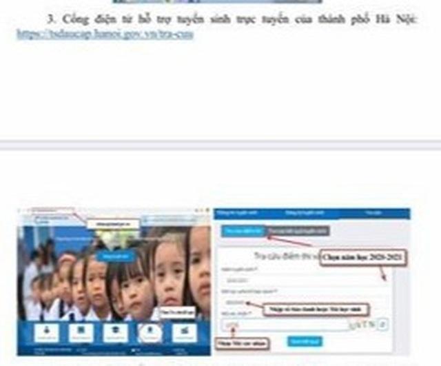 Hà Nội: Công bố điểm thi vào lớp 10 THPT năm học 2020-2021 - 3