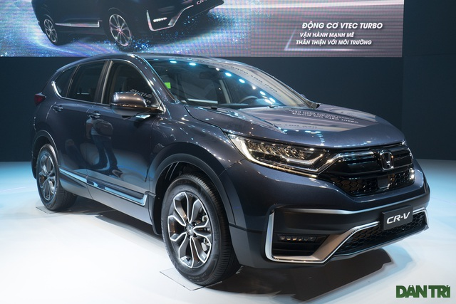 Honda CR-V 2020 giá từ 998 triệu, thêm công nghệ để áp đảo Tucson, CX-5