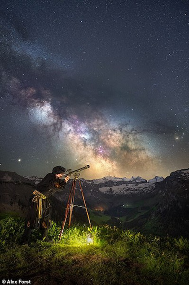 Mê hoặc với bộ ảnh lãng mạn về bầu trời lấp lánh sao đêm ở châu Âu - 10