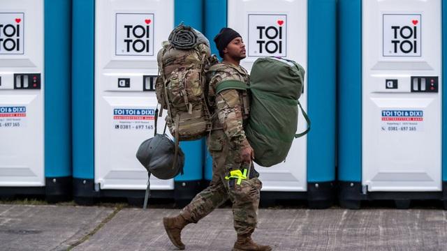 Mỹ rút 12.000 quân khỏi Đức - 1