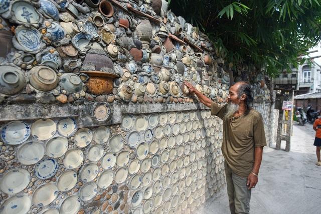 Độc nhất vô nhị ngôi nhà gắn hơn 10.000 bát, đĩa cổ ở Vĩnh Phúc - 16