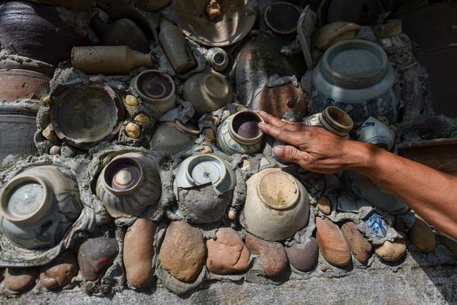 Độc nhất vô nhị ngôi nhà gắn hơn 10.000 bát, đĩa cổ ở Vĩnh Phúc - 17