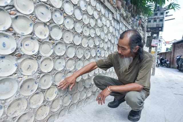 Độc nhất vô nhị ngôi nhà gắn hơn 10.000 bát, đĩa cổ ở Vĩnh Phúc - 3