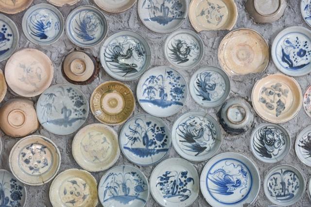 Độc nhất vô nhị ngôi nhà gắn hơn 10.000 bát, đĩa cổ ở Vĩnh Phúc - 19