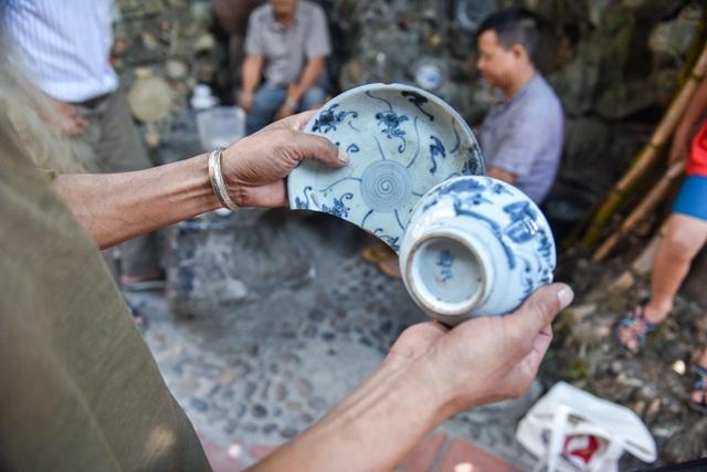 Độc nhất vô nhị ngôi nhà gắn hơn 10.000 bát, đĩa cổ ở Vĩnh Phúc - 8