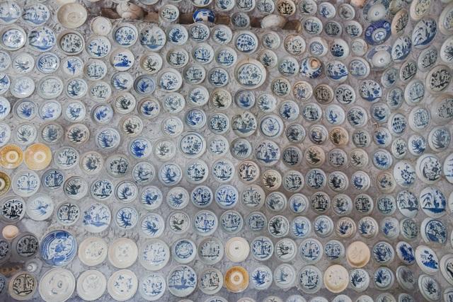 Độc nhất vô nhị ngôi nhà gắn hơn 10.000 bát, đĩa cổ ở Vĩnh Phúc - 7