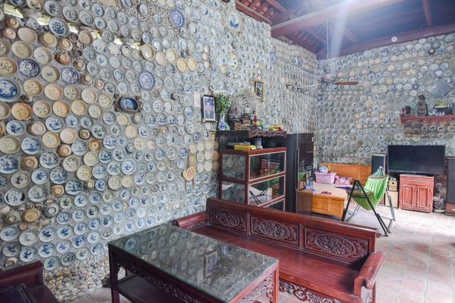 Độc nhất vô nhị ngôi nhà gắn hơn 10.000 bát, đĩa cổ ở Vĩnh Phúc - 6