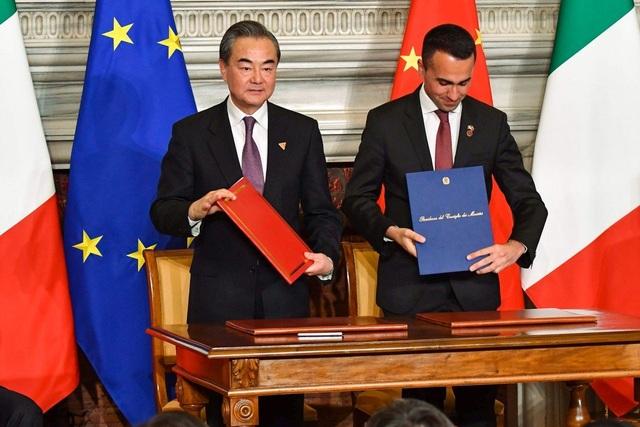 Căng thẳng với Mỹ, Trung Quốc tăng cường quan hệ với châu Âu - 1