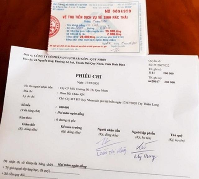 """Chấn chỉnh việc thu phí dịch vụ """"bất hợp lý"""" ở bãi biển Quy Nhơn - 1"""