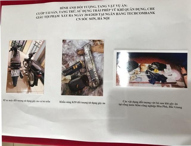 Vụ cướp ngân hàng ở Sóc Sơn: Đề nghị truy tố 3 đối tượng  - 3