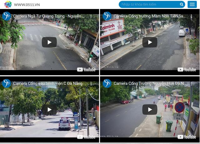 Xem trực tiếp các tuyến phố bị phong tỏa tại Đà Nẵng trên YouTube, Facebook - 2
