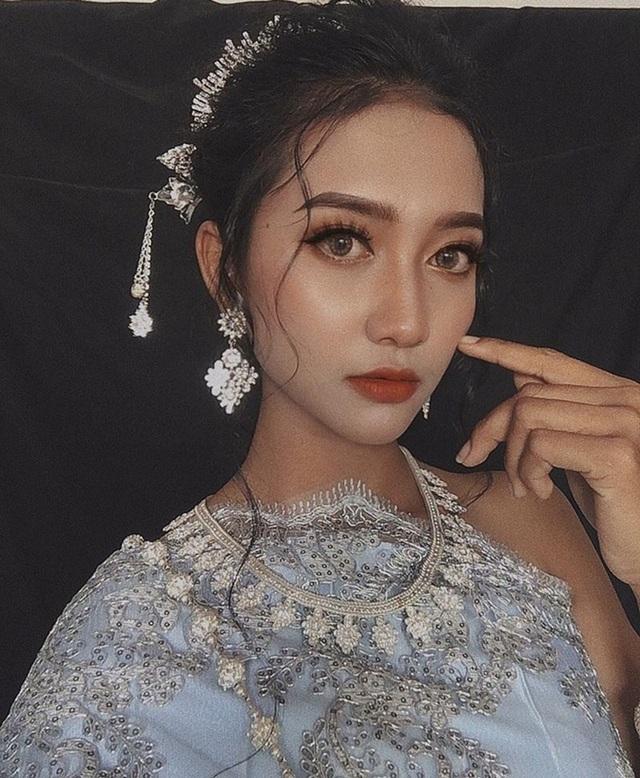 """Thiếu nữ Khmer """"nổi như cồn"""" với làn da bánh mật cuốn hút - 7"""