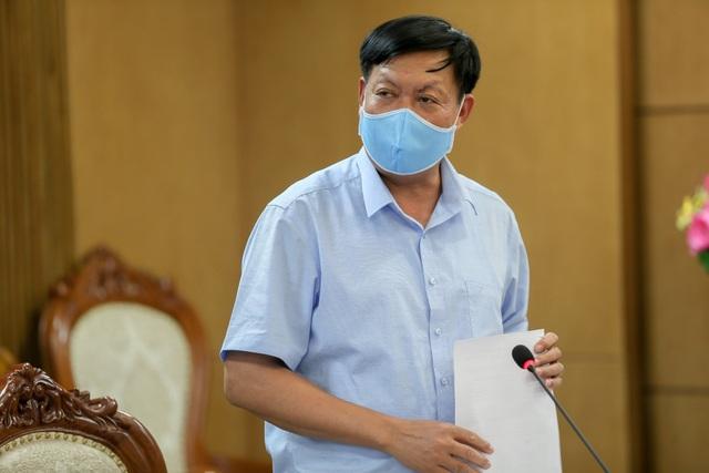 Thứ trưởng Bộ Y tế: Mở hết cửa, không bật điều hòa trong phòng thi - 1