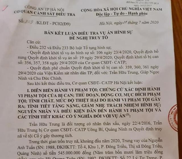 Vụ cướp ngân hàng ở Sóc Sơn: Đề nghị truy tố 3 đối tượng  - 4