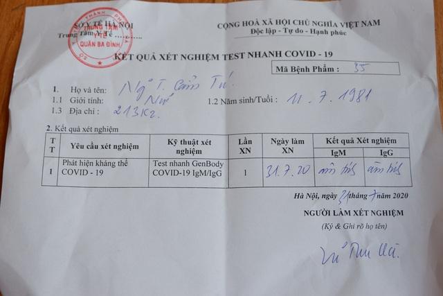 Hà Nội: Lượng người đến xét nghiệm nhanh Covid-19 tăng vọt so với thống kê - 17