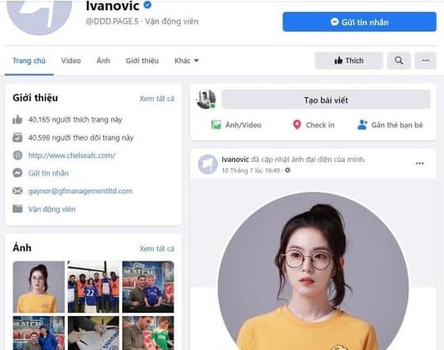 Tài khoản Facebook của cựu hậu vệ Chelsea bị hacker Việt chiếm rồi rao bán