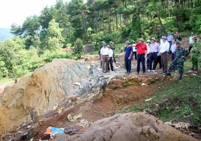 Hàng loạt sai phạm trong khai thác khoáng sản ở Bắc Kạn, Lai Châu - 2