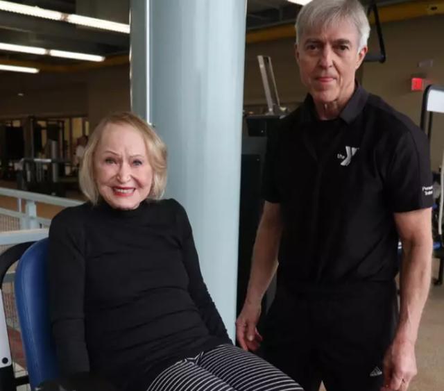 Nữ giáo sư đại học Harvard tuyên bố ngừng tập gym ở tuổi 104 - 2
