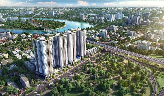Chính thức khai trương tầng căn hộ mẫu dự án Phương Đông Green Park - 1