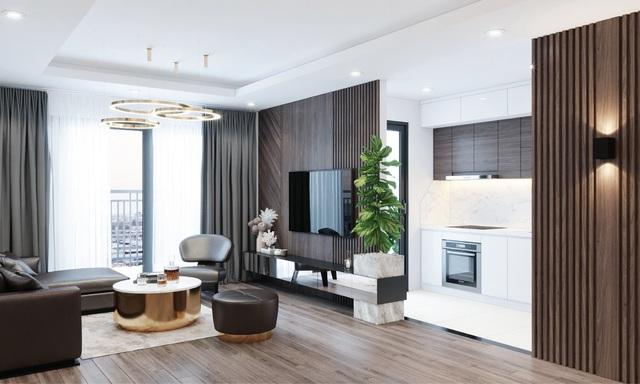 Chính thức khai trương tầng căn hộ mẫu dự án Phương Đông Green Park - 2