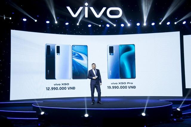 Vivo X50 và Vivo X50 Pro chống rung gimbal chính thức ra mắt tại Việt Nam - 3