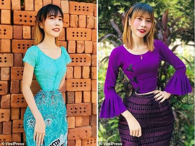 """Cô gái Myanmar sở hữu """"vòng eo con kiến"""" 35 cm - 5"""