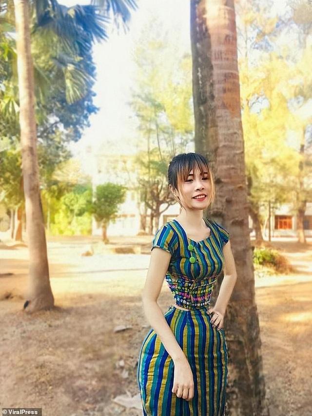 """Cô gái Myanmar sở hữu """"vòng eo con kiến"""" 35 cm - 8"""