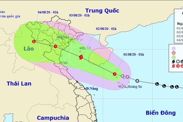 Áp thấp nhiệt đới có khả năng mạnh thành bão, hướng vào đất liền Việt Nam - 1