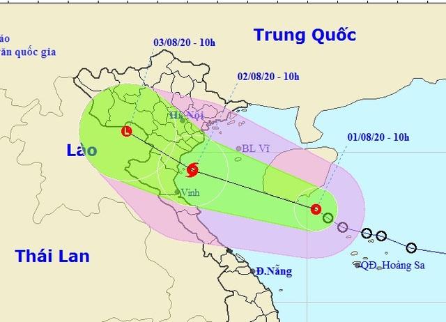 Áp thấp nhiệt đới sắp mạnh thành bão, dự báo ảnh hưởng Nam Đồng bằng Bắc Bộ - 2