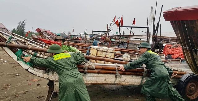 Nghệ An, Thanh Hóa di dời dân trước bão, phòng chống dịch tại nơi sơ tán - 1