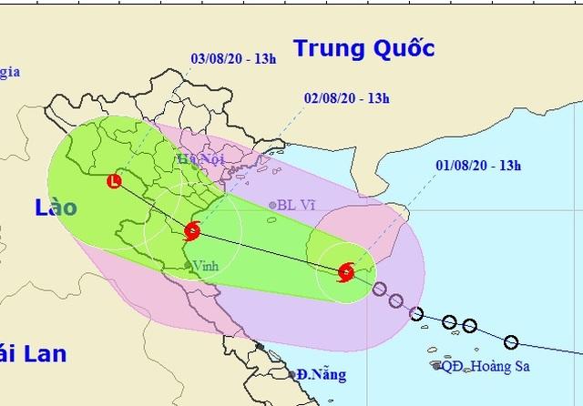 Bão số 2 hình thành trên Biển Đông, mưa lớn ở nhiều nơi - 1
