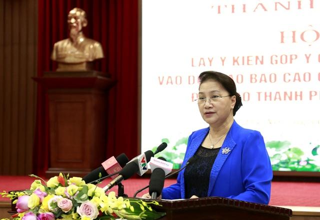 Chủ tịch Quốc hội: Hà Nội cần khai thác hiệu quả quỹ đất sông Hồng - 1